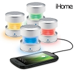 iHome Rechargeable Color Changing Mini Speaker