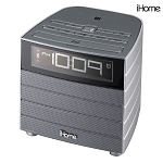 iHome NFC Bluetooth FM Clock Radio w/USB Charging