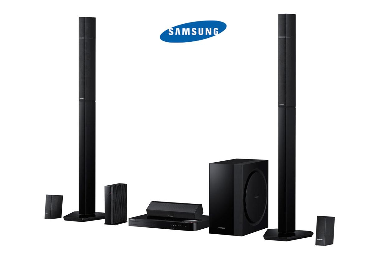 Samsung 1330 Watt 3D Blu-Ray Home Theater System w/ Vacuum Tube App