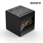 Sony Alarm Clock AM/FM Radio, Black