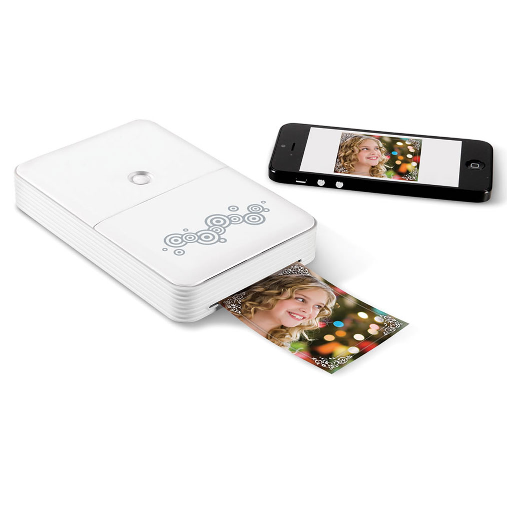 the portable smartphone cellphone photo printer. Black Bedroom Furniture Sets. Home Design Ideas
