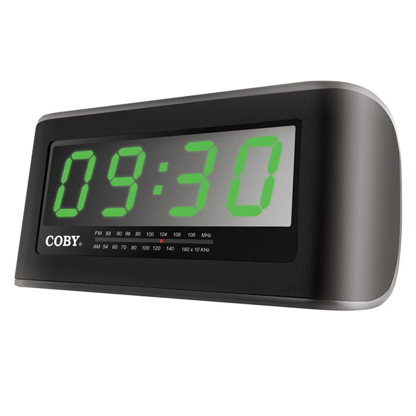 digital am fm alarm clock radio. Black Bedroom Furniture Sets. Home Design Ideas