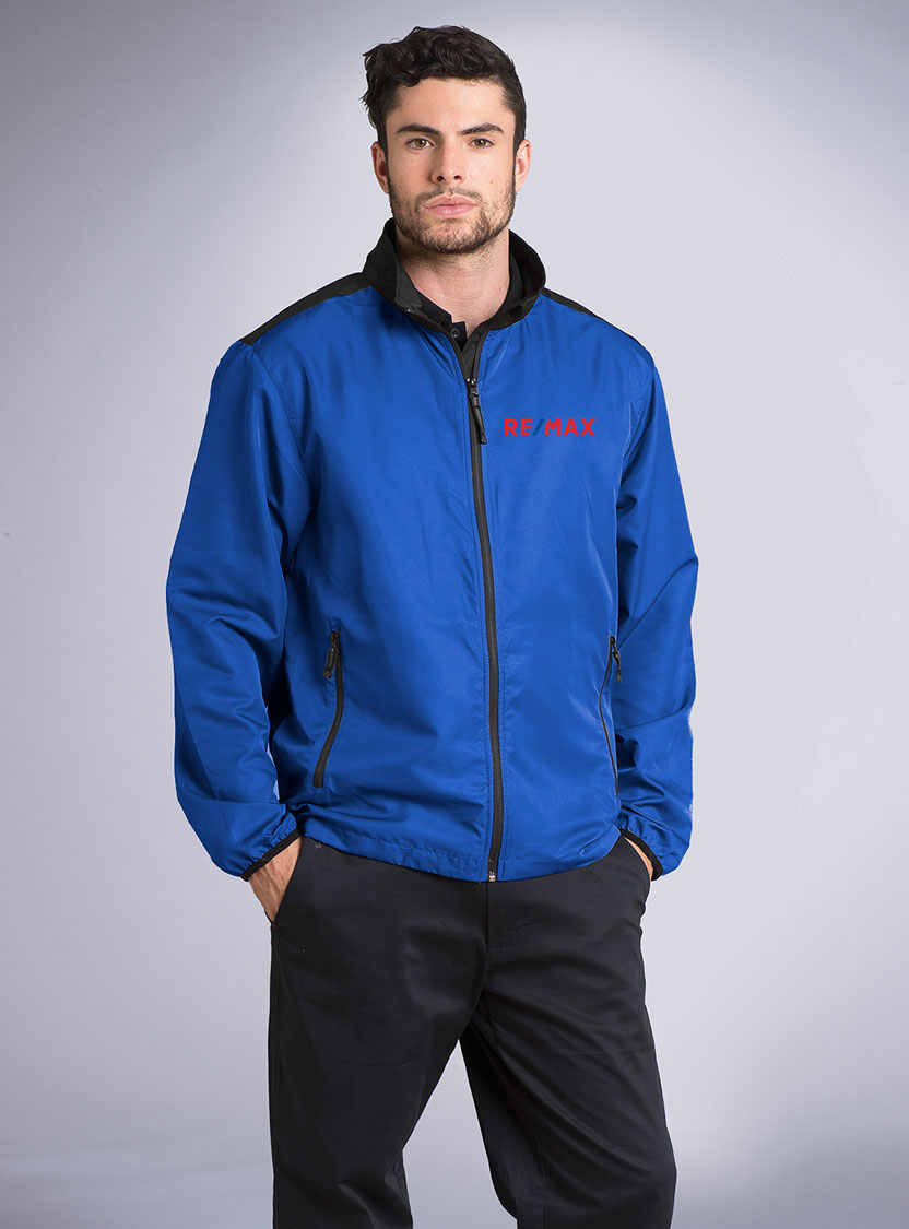 Men's lightweight Color Block Jacket