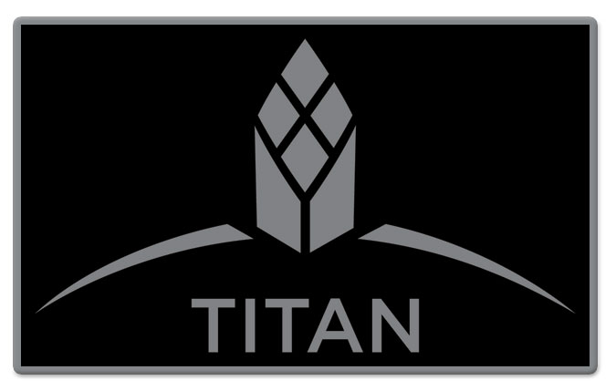 Titan Pin - Black