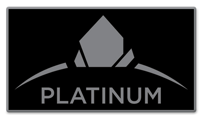 Plantinum Pin - Black
