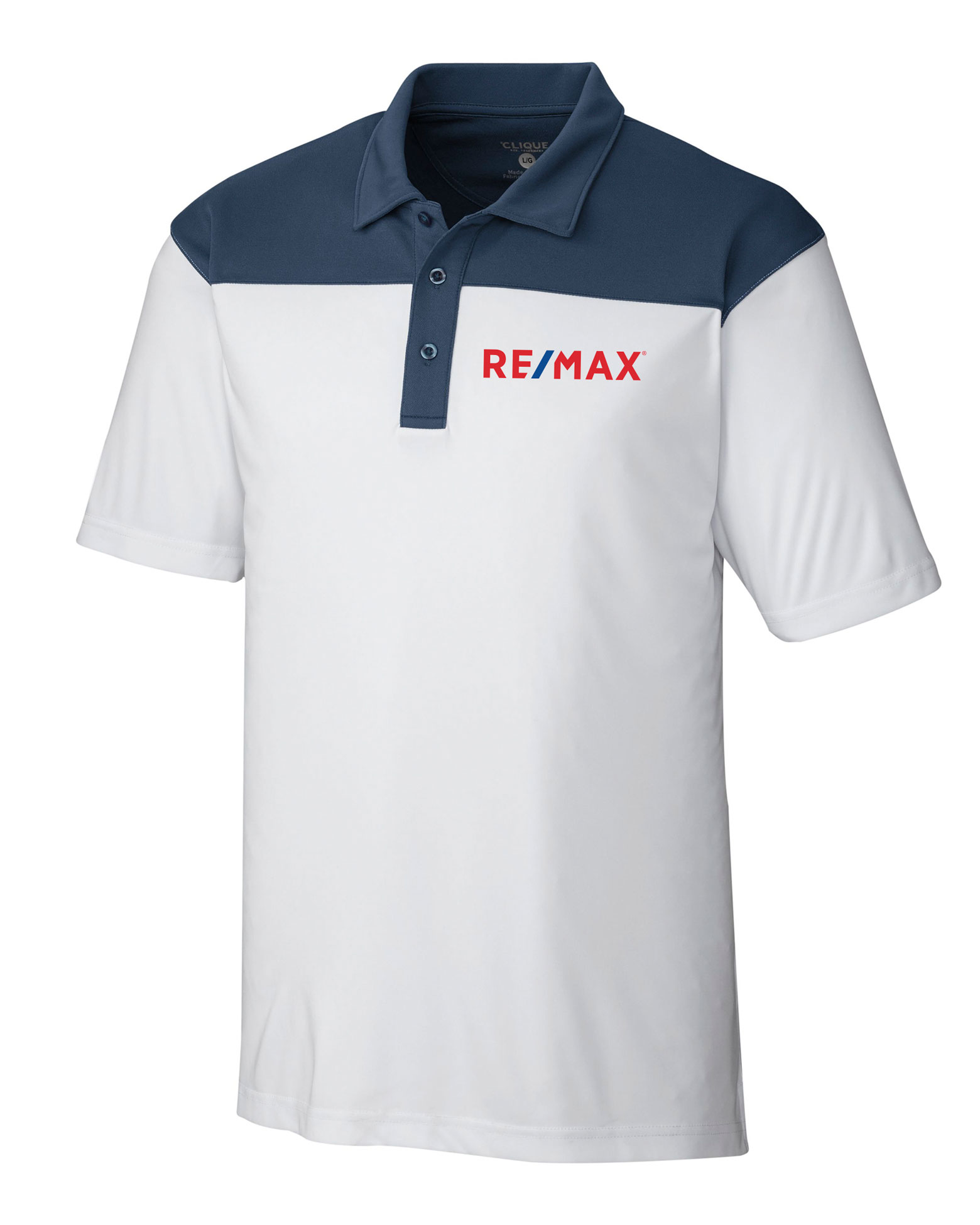 Clique Men's Parma Colorblock Polo