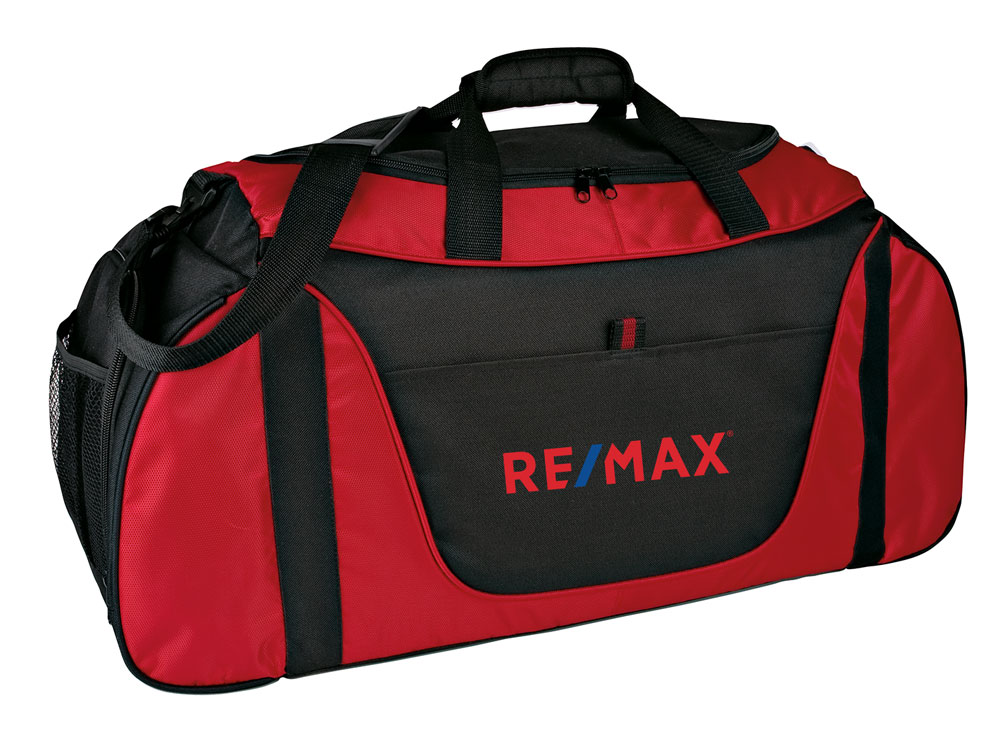 Medium Two-Tone Duffel