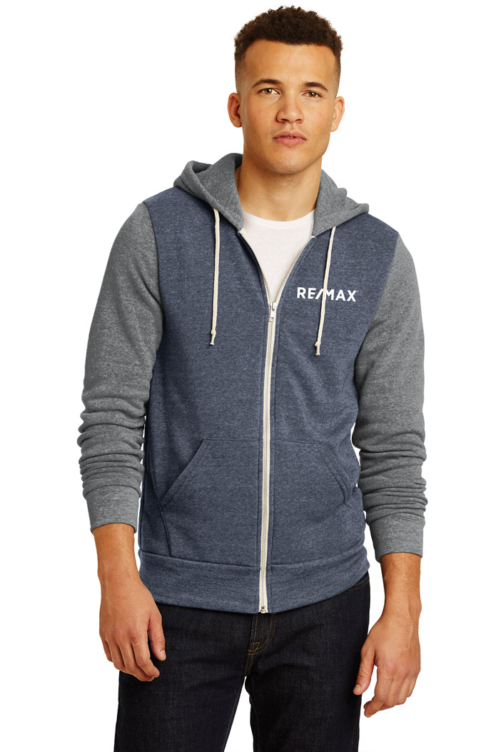 Men's Alternative Colorblock Rocky Eco™-Fleece Zip Hoodie