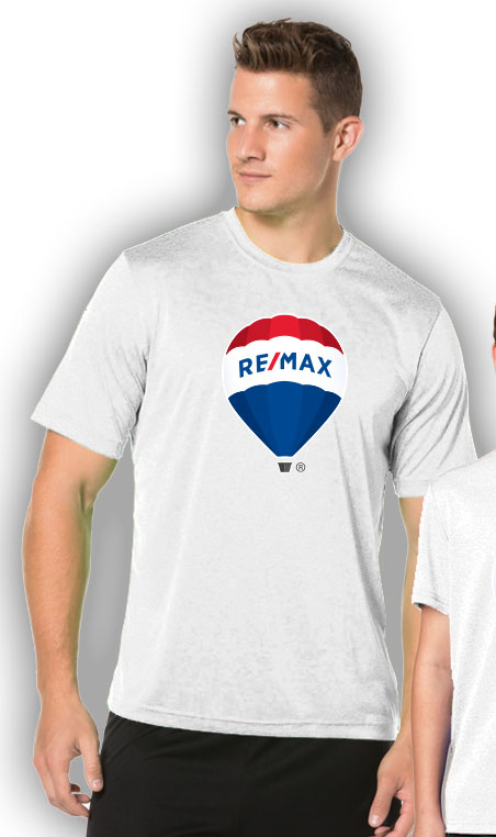 RE/MAX Balloon Men's T-Shirt - White
