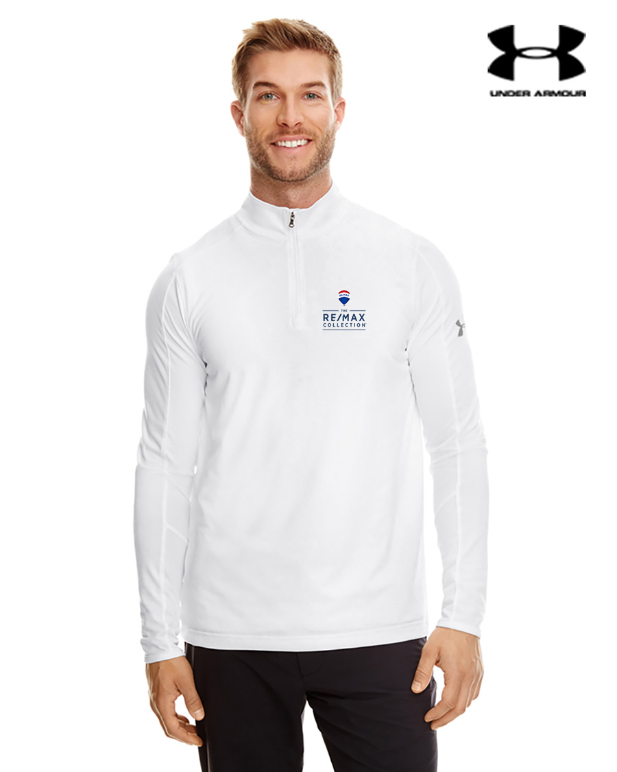 Men's Under Armour Tech Quarter-Zip - White