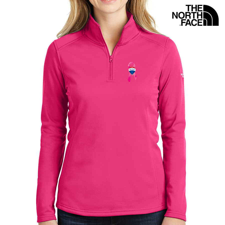 The North Face® Ladies' Tech 1/4-Zip Fleece - Awareness