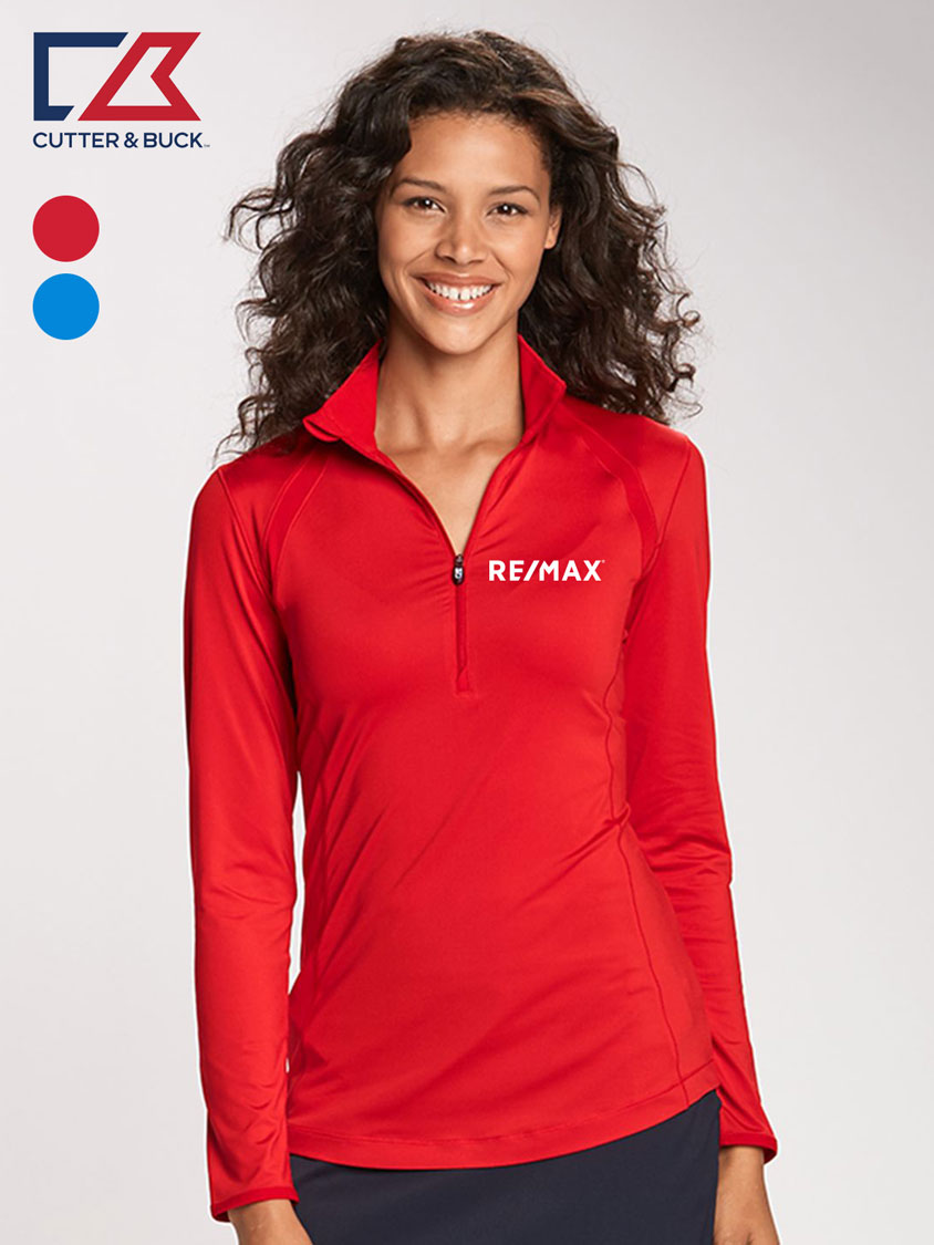 Cutter & Buck Ladies' Williams Half Zip
