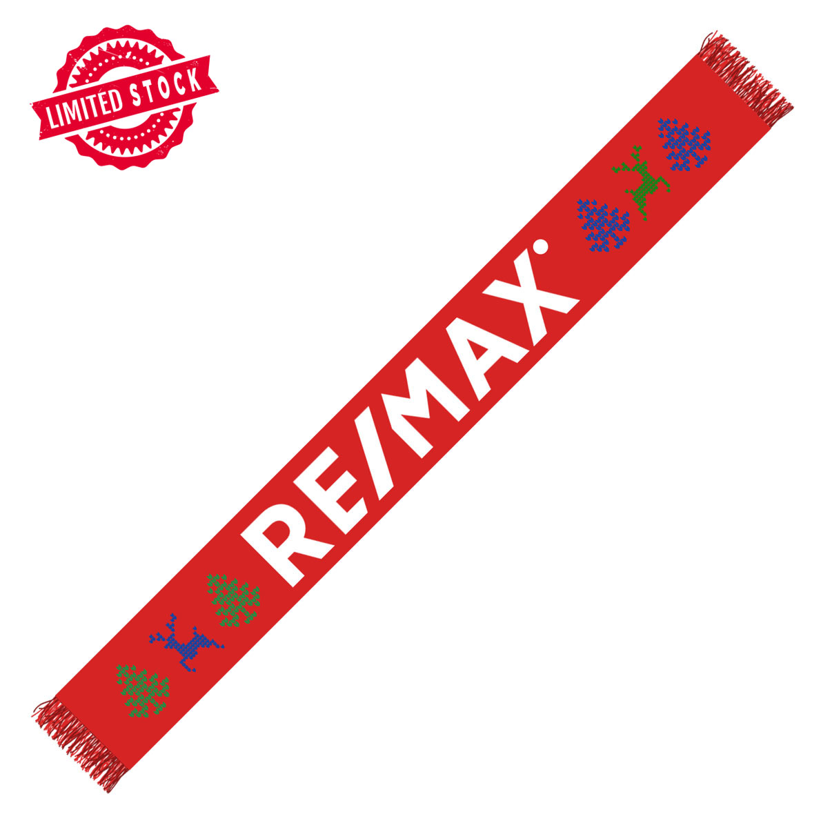 The RE/MAX Holiday Scarf
