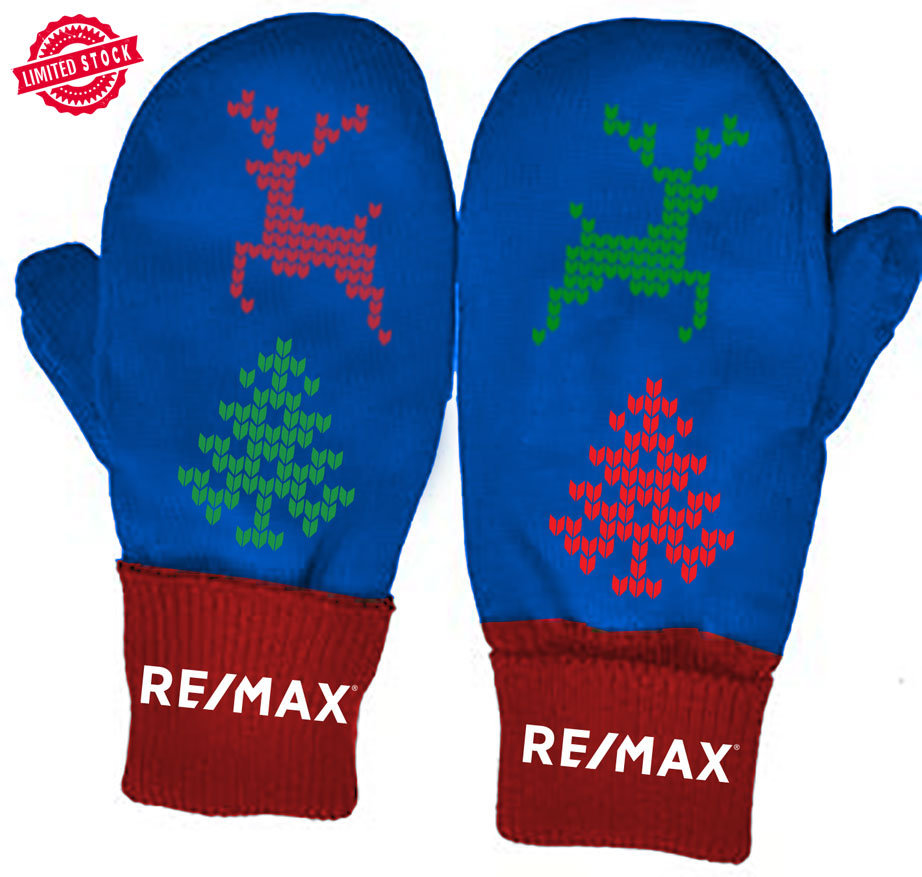 The RE/MAX Holiday Mitts