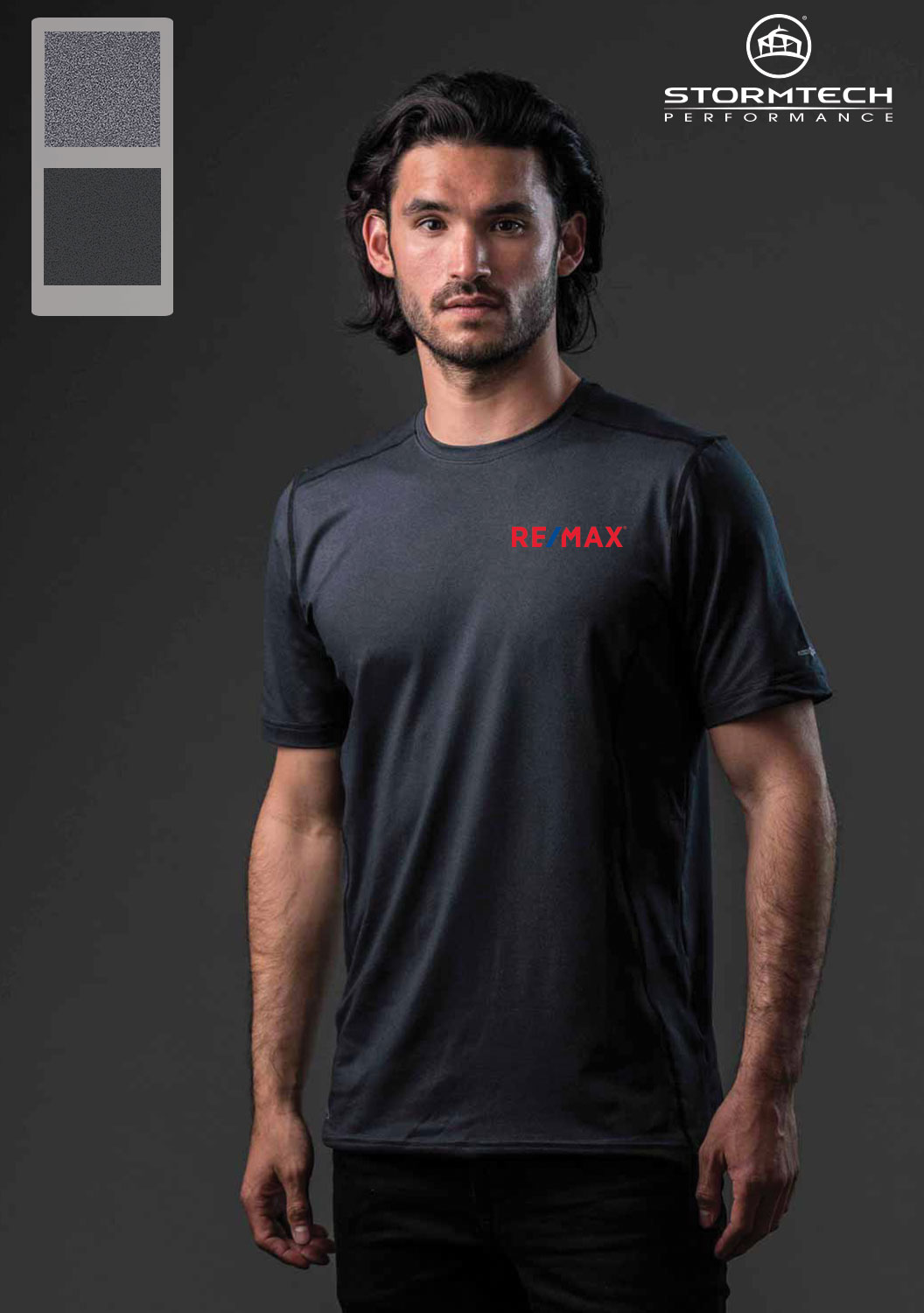 Stormtech Men's Lotus H2X-DRY® S/S Performance Tee
