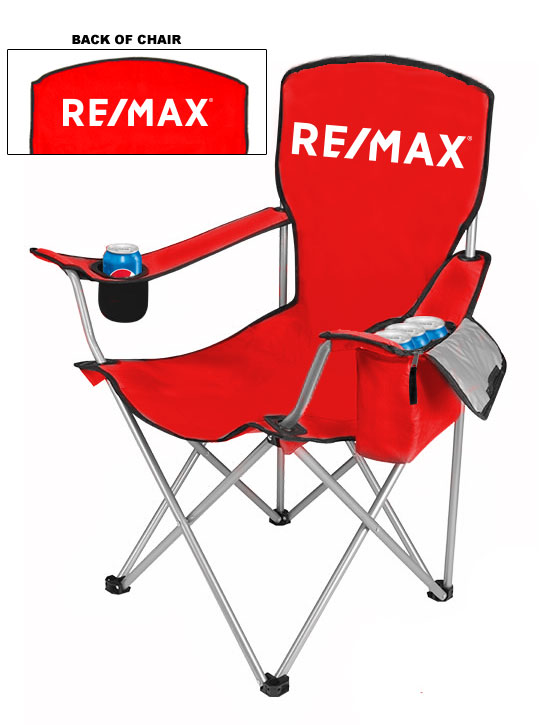 NEW DESIGN Cool Camping Chair With Side Pocket Cooler