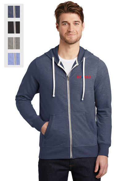 District ® Perfect Tri ® French Terry Full-Zip Hoodie