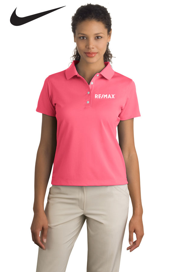 Nike Basic Dri-FIT Polo (Ladies') (Pink)
