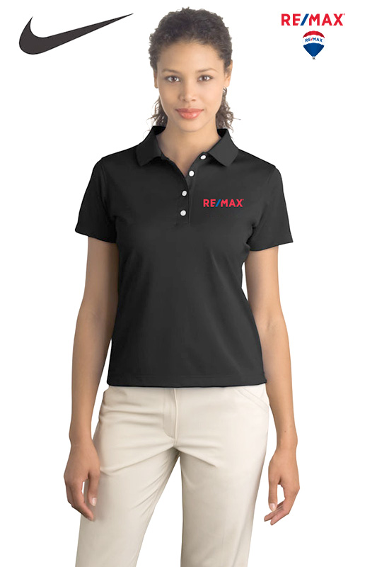 Nike Basic Dri-FIT Polo (Ladies') (Black)