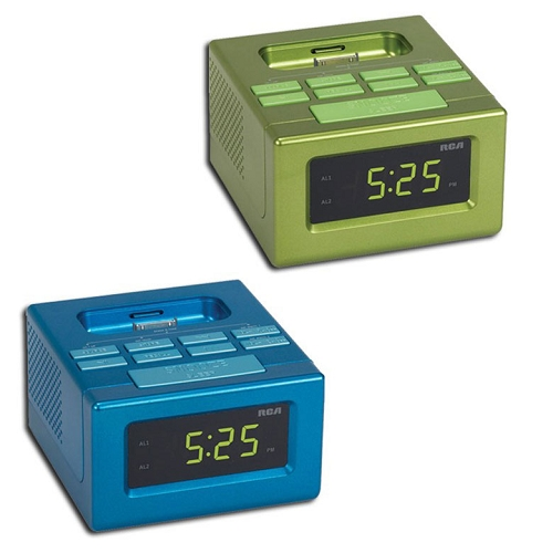 RCA Clock Radio Dock  for iPod and iPhone