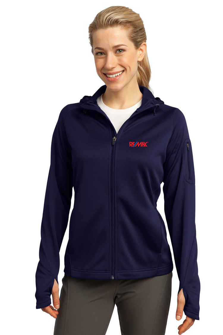 Full-Zip Hooded Fleece Jacket (Ladies')