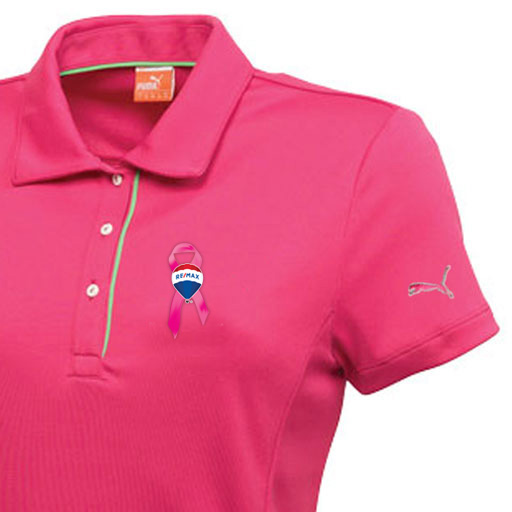 Puma Ladies' Golf Cresting Tech Polo - Awareness