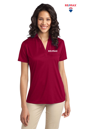 Ladies 100% Polyester Wicking Dry-fit Polo