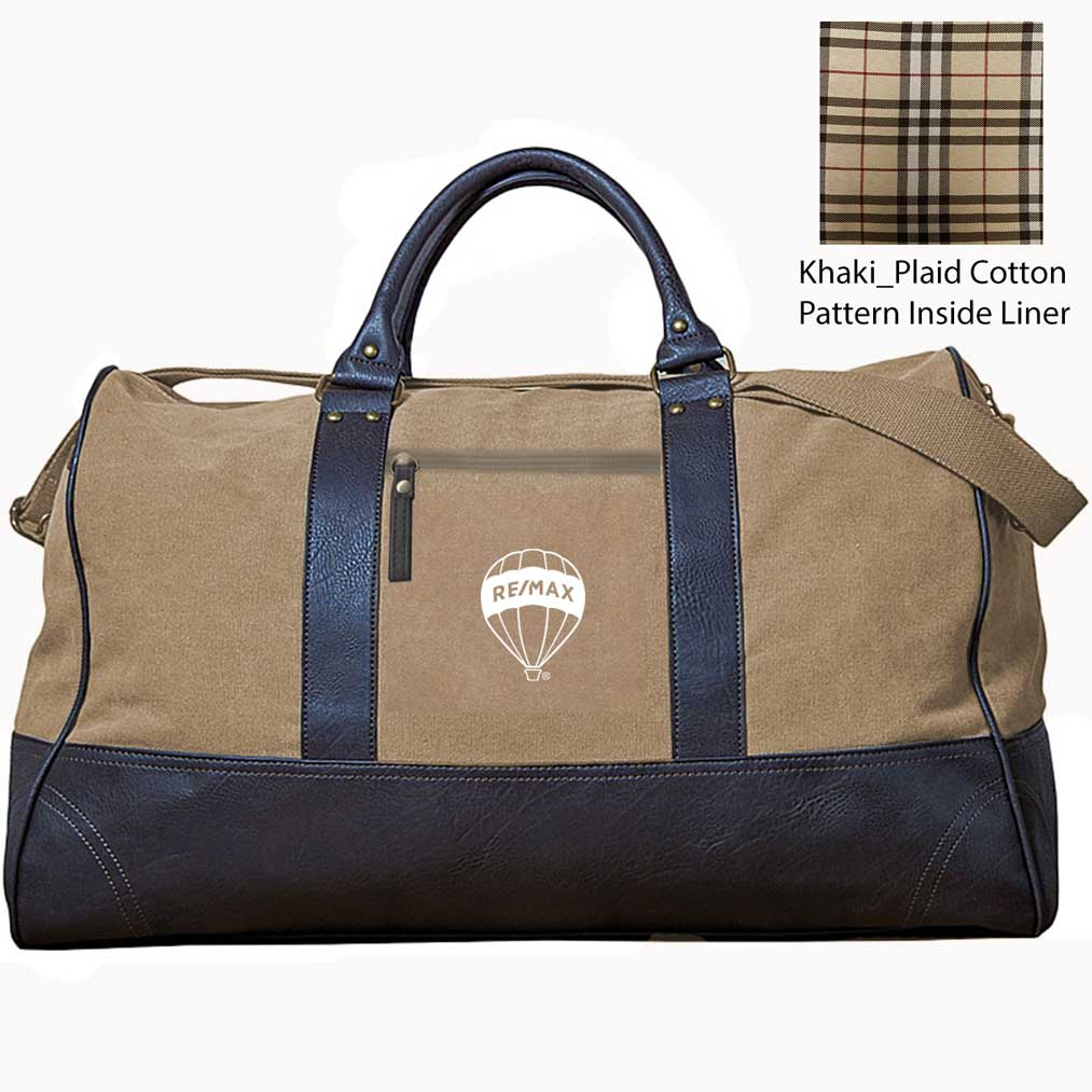 Kensington Executive Duffle Bag - Khaki