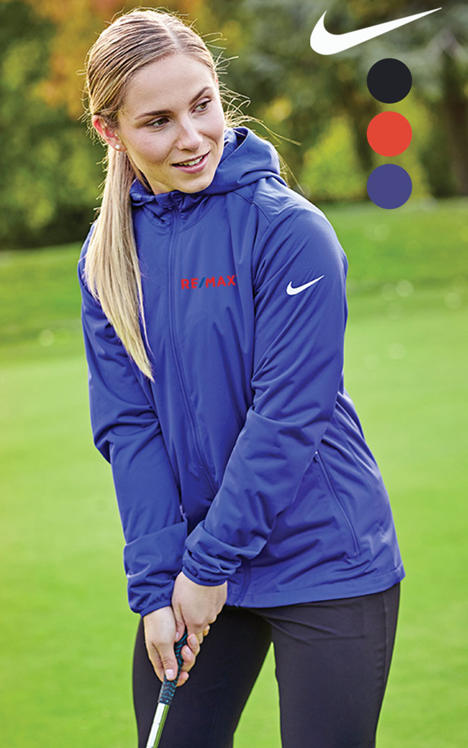 Ladies Nike shield wind jacket