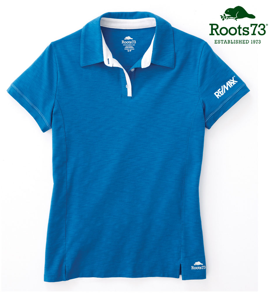 Roots 73 Ladies' Stillwater Short Sleeve Polo
