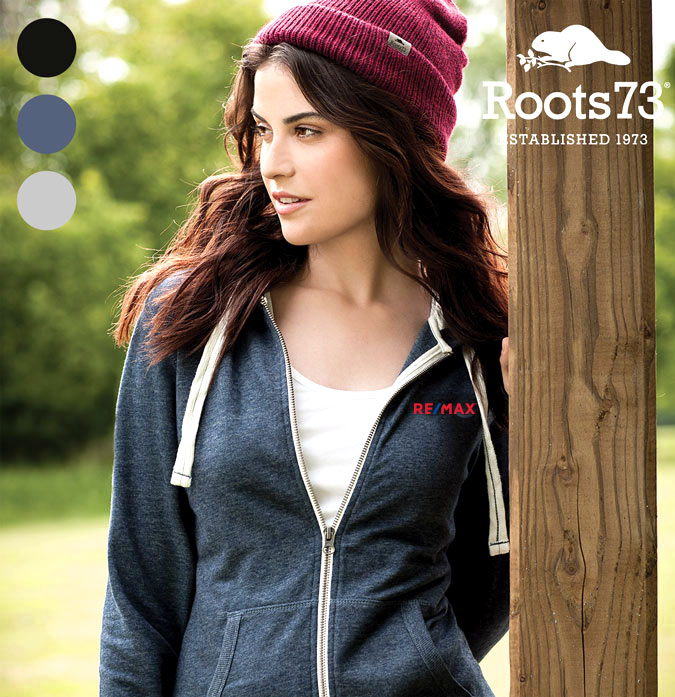 Roots 73 Ladies' Sandylake Knit Full Zip Hoody