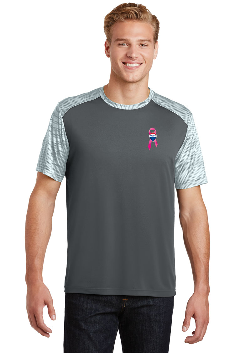 CamoHex Colorblock Tee - Awareness