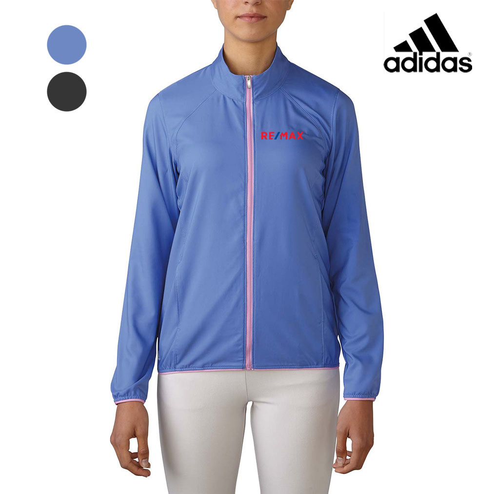 Ladies' Adidas Melange Wind Jacket