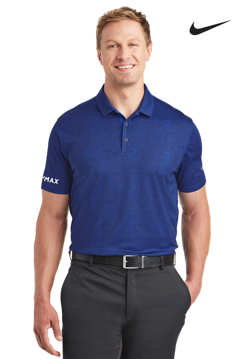 Nike Men's Golf Dri-FIT Crosshatch Polo