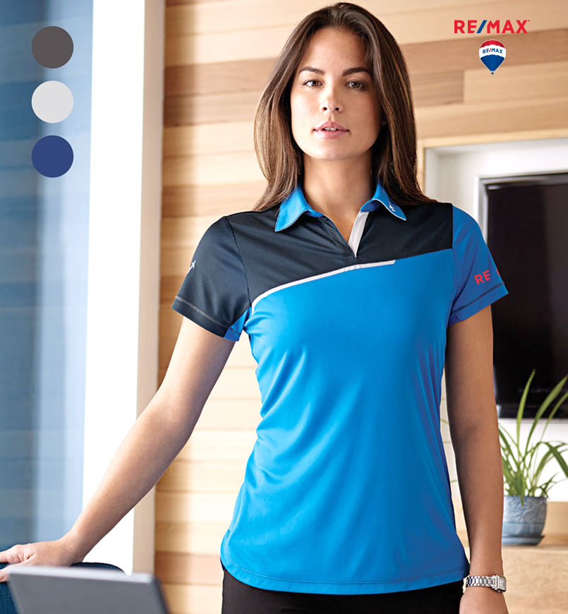 Ladies' Prater Short Sleeve Polo