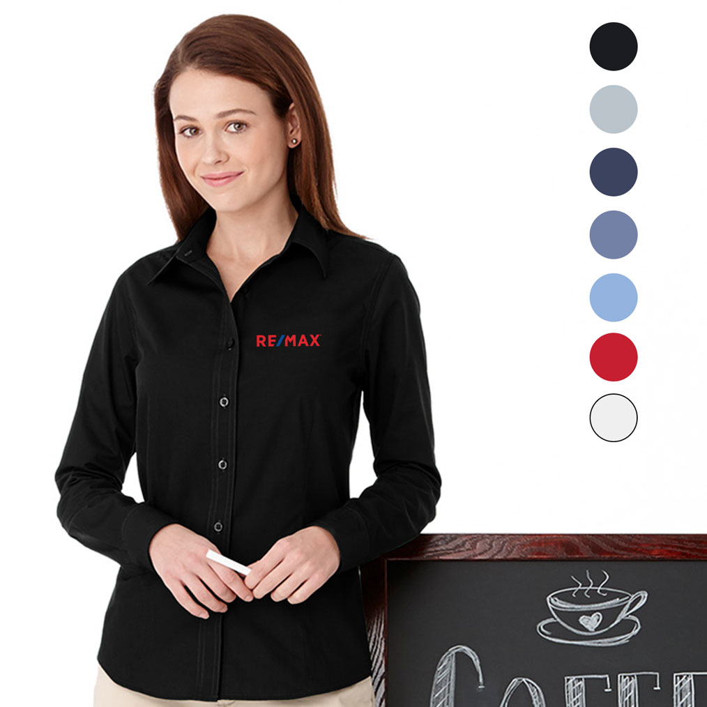 Ladies' PRESTON Long Sleeve Shirt