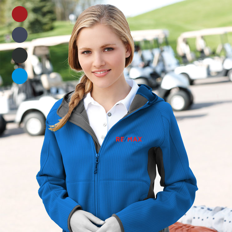 Ladies' FERNO Bonded Knit Jacket