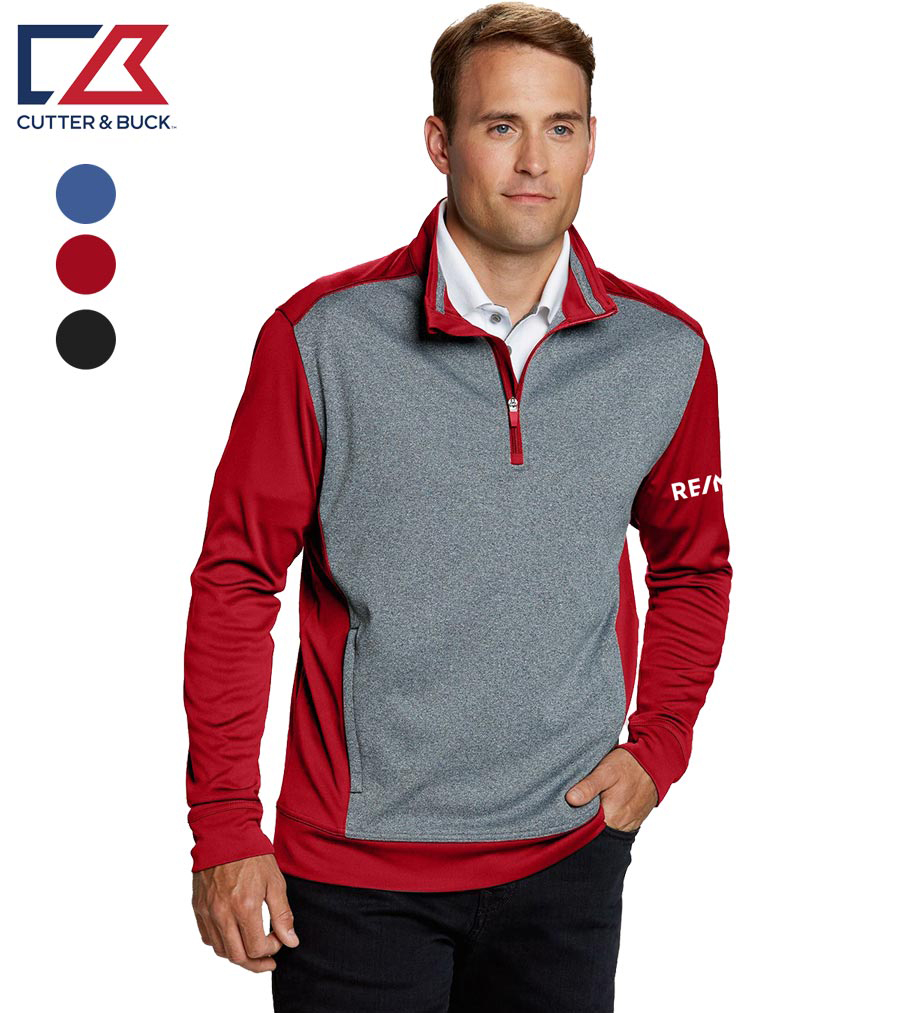 Cutter & Buck Men's Replay Half Zip