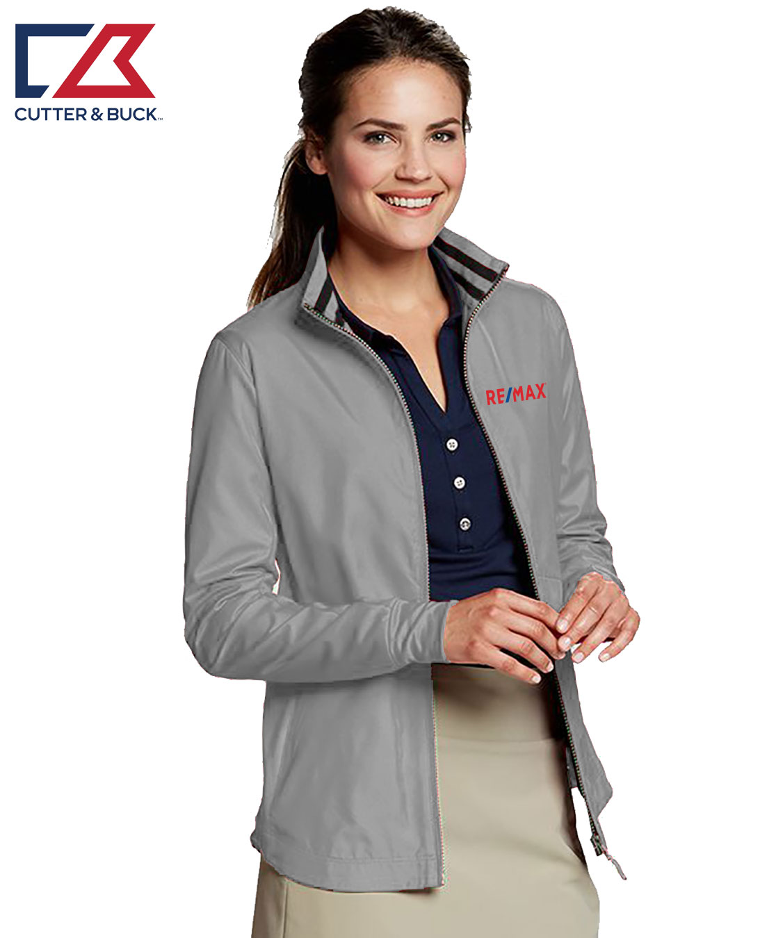Ladies' L/S Nine Iron Full Zip Jacket