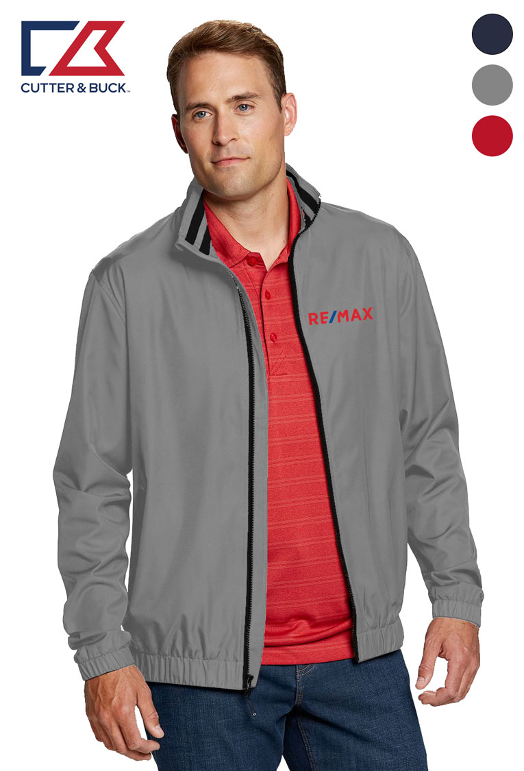 Cutter & Buck Men's Nine Iron Full Zip Jacket
