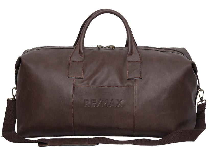 "Premium Leather 22"" Duffle/Sportsbag"