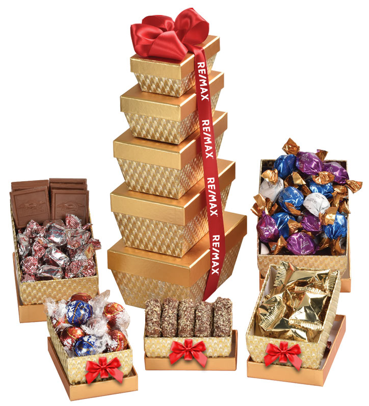 Grand Gourmet Gift Tower