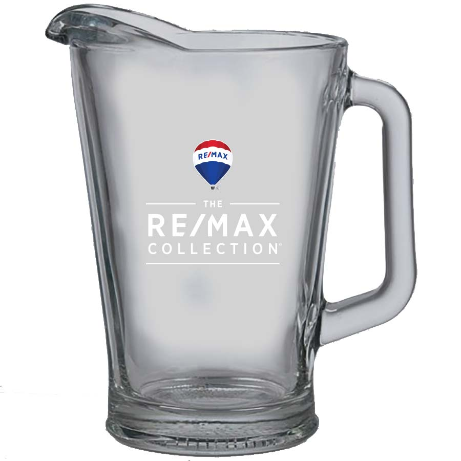 60 oz. Glass Pitcher - RE/MAX Collection