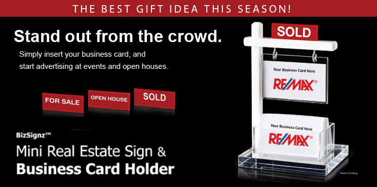 The mini real estate sign business card holder mini real estate sign business card holder instock order now while quantities last colourmoves