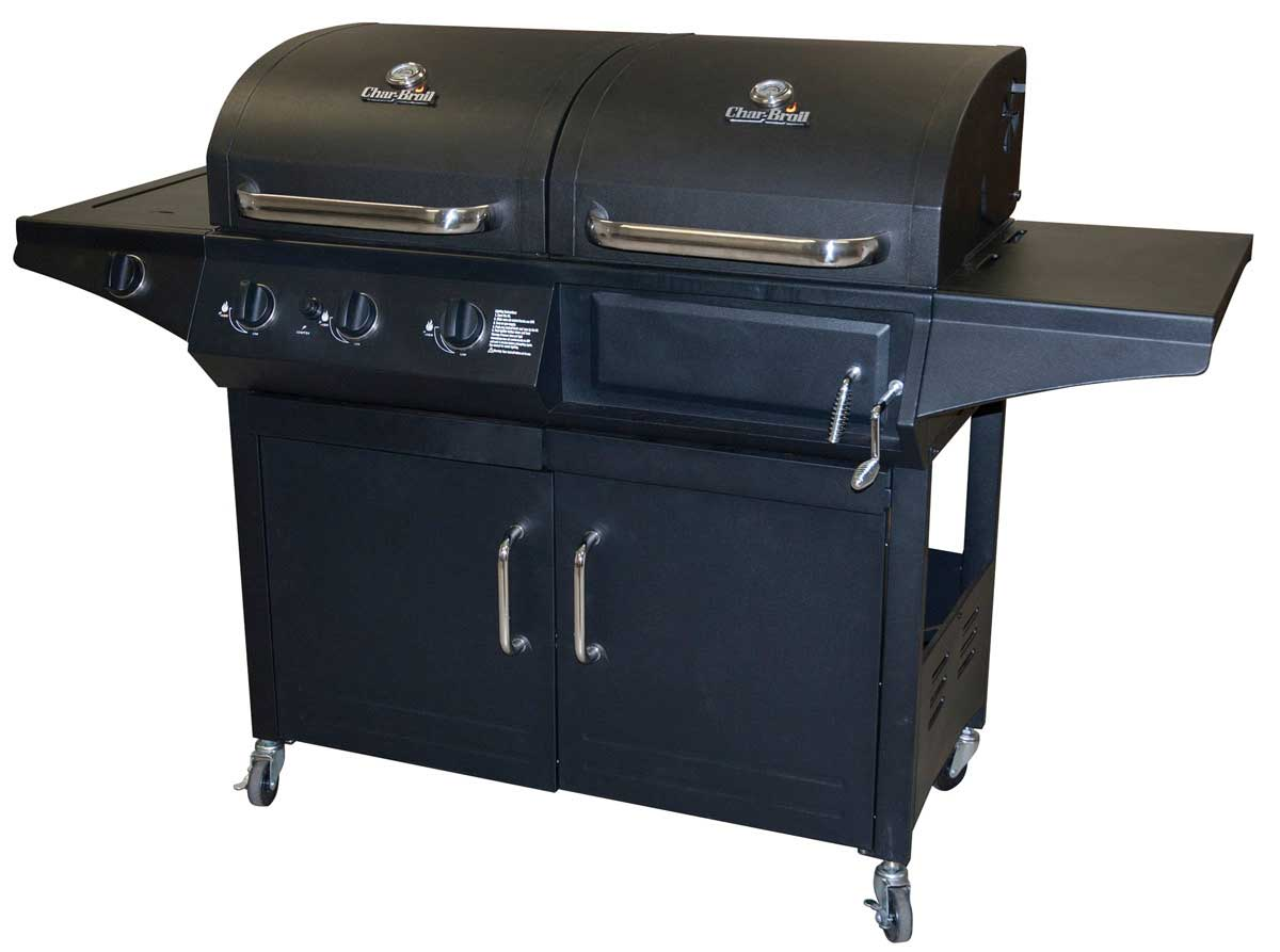 Combination Charcoal Gas Grill