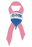 RE/MAX Pink Ribbon Awareness Temporary Tattoo