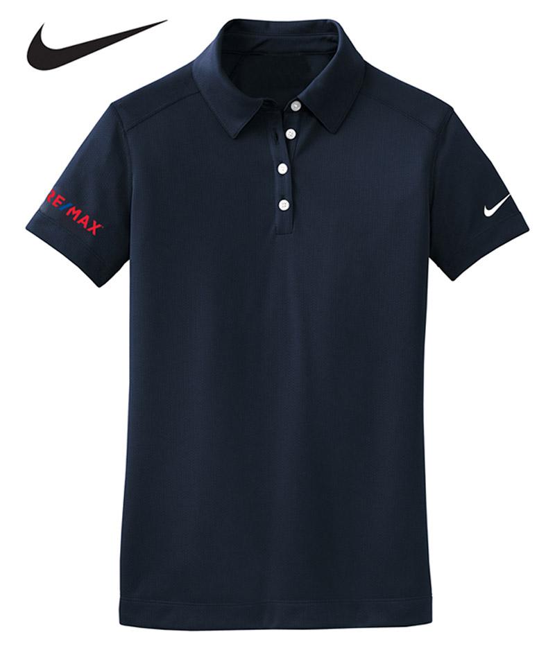 Nike Dri Fit Polo Ladies 39 Navy