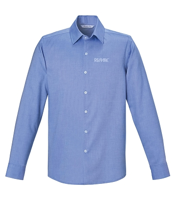 Refine men 39 s wrinkle free 2 ply 80 39 s cotton royal oxford for 2 ply cotton shirts