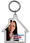 House Crystal Keytag - Personalized
