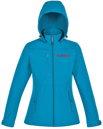 Ladies' 3-Layer Light Bonded Travel Soft Shell Jackets